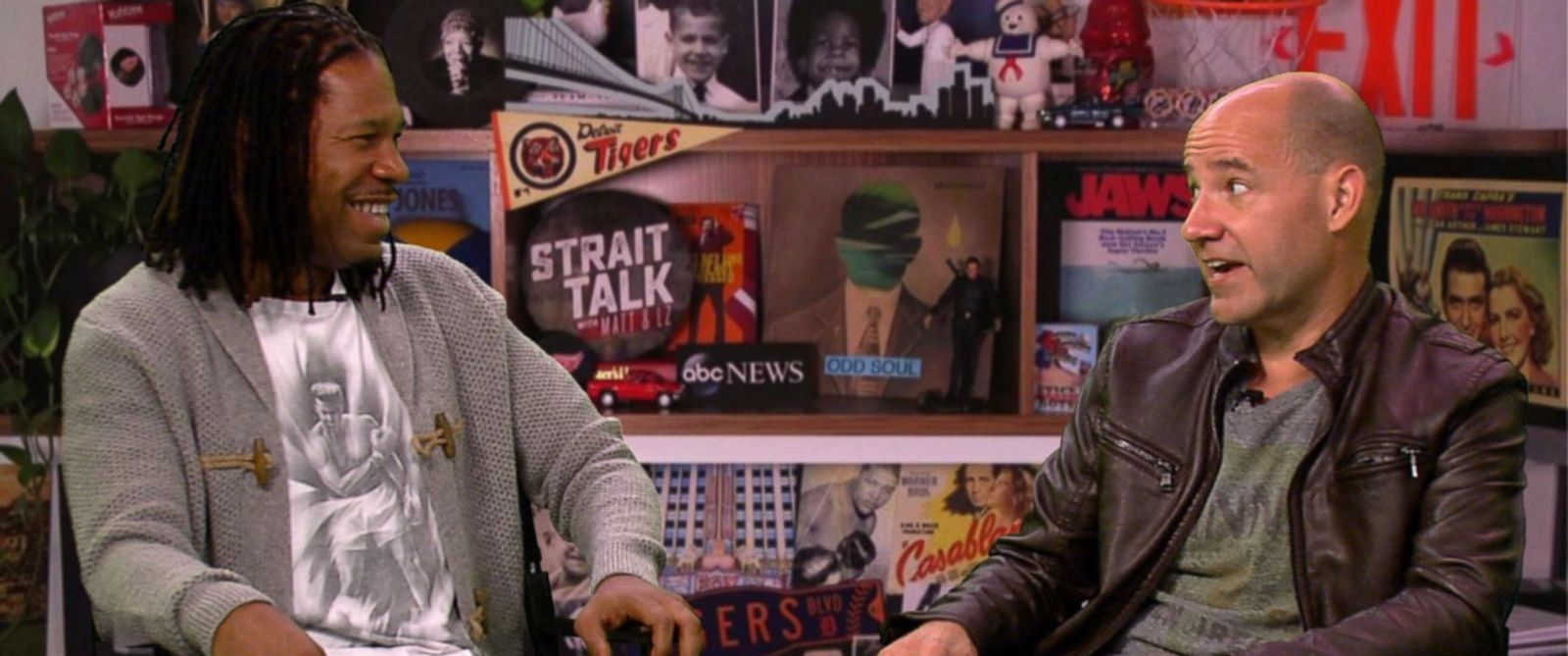 PHOTO: Strait Talk with Matt and LZ