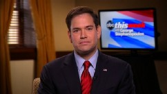 PHOTO: Senator Marco Rubio (R) Florida on 'This Week'