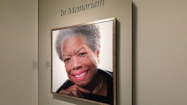 abc maya angelou jc 140529 16x9 608 Maya Angelou Painting Installed in National Portrait Gallery