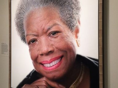 Maya Angelou Painting Installed in National Portrait Gallery