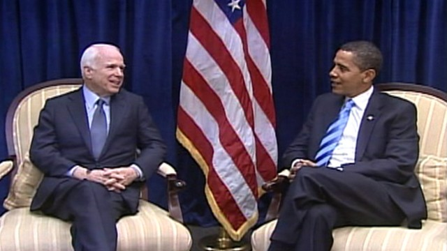 VIDEO: Arizona senator sits down with the president-elect in Chicago on Nov. 17, 2008.