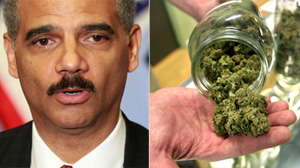 PHOTO Attorney General Eric Holder, shown in this file photo, announced new guidelines for federal prosecutors in states where the use of marijuana for medicinal purposes is allowed under state law.