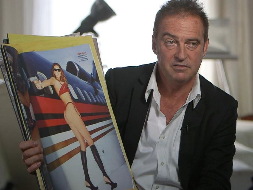 PHOTO: French photographer Antoine Verglas was the cameraman for Melania Trumps 2000 GQ photo shoot aboard Donald Trumps private jet.