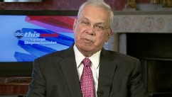 PHOTO: Boston, Massachusetts Mayor Thomas Menino (D) on 'This Week'