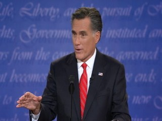 Romney's Face Betrays Unease Firing Big Bird