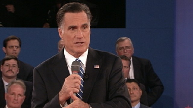 VIDEO: The president says Mitt Romney hasn't offered any specifics about his economic plan.