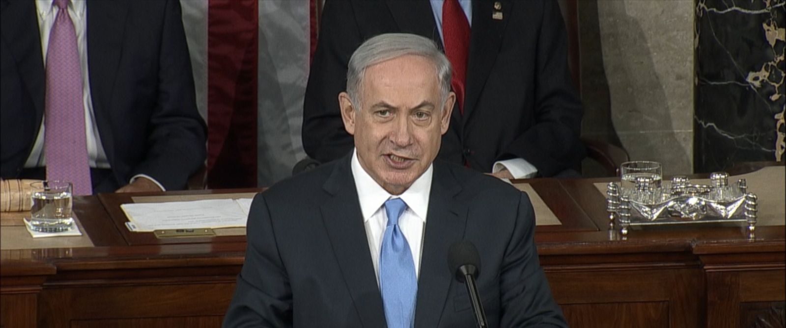 PHOTO: Israeli Prime Minister Benjamin Netanyahu addresses the United States Congress, Washington, March 3, 2015.
