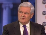 PHOTO: 2012 Republican Presidential Candidate and (R) Former House Speaker Newt Gingrich on This Week.