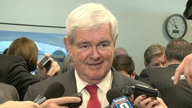 "VIDEO: Newt Gingrich suggests Romney return money earned from ""bankrupting"" companies."