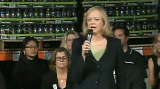 Video: Meg Whitman sets campaign spending record.