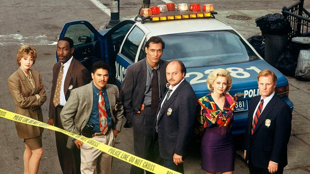 "PHOTO: ABC's ""NYPD Blue"" television series is seen here in this 1994 file photo."
