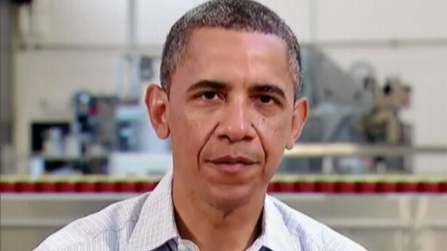 VIDEO: Obamas weekly address focuses on the economy.