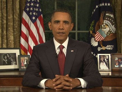 VIDEO: President Obama Addresses the Nation