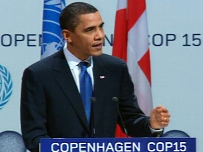 Video of President Barack Obama in Copengagen.