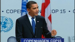 Video of President Barack Obama in Copengagen.