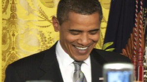 ABC News video of LGBT reception at White House.