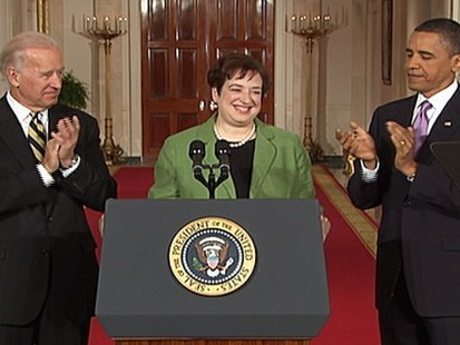 VIDEO: Obama Picks Elena Kagan for Supreme Court