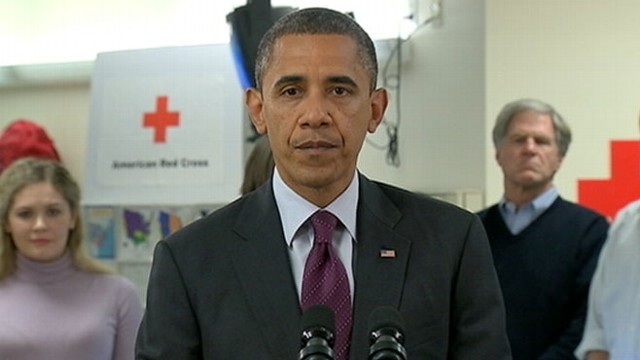 VIDEO: President Obama Speaks on Hurricane Sandy Relief From Red Cross