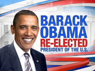 Watch: Barack Obama Wins Second Term
