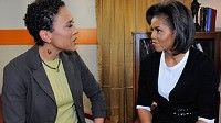 Photo: In Exclusive First Interview with ABC's Robin Roberts, Michelle Obama Talks Life in the White House and Her Agenda as First Lady