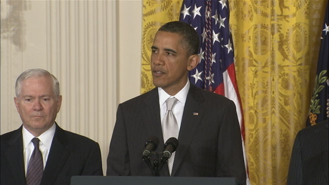 VIDEO: President urges Congress to approve nominations swiftly during time of war.