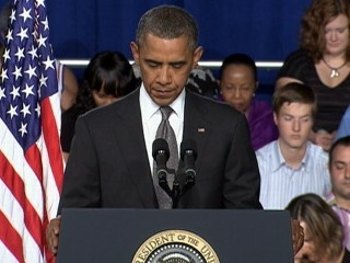 Watch: Colorado Shooting: Obama Calls for Moment of Silence