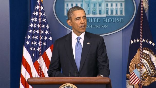 abc obama speaking kb 140317 16x9 608 Tough Sanctions on Russia Make Clear There Are Consequences, Obama Says