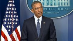 U.S. president also hits Russian banks and energy firms in response to the conflict in Ukraine.