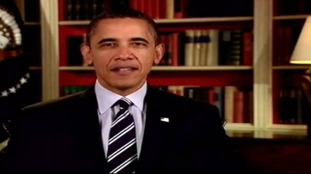 VIDEO: President urges Congress to act on his latest housing refinance plan.