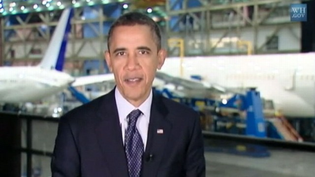 VIDEO: The president talks about boosting production and bring jobs back to the U.S.