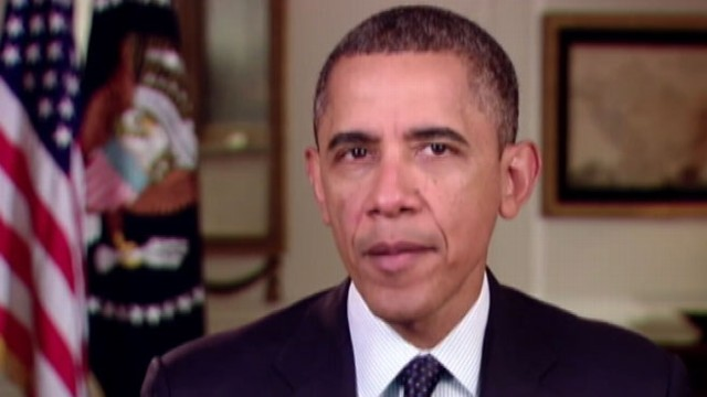 VIDEO: Obamas Weekly Address Focuses on the Fight to Pass Gun Control Laws