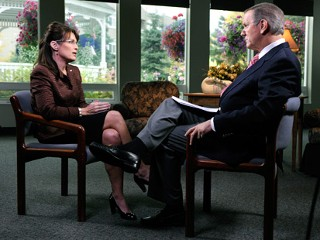 Sarah Palin interviewed by Charlie Gibson