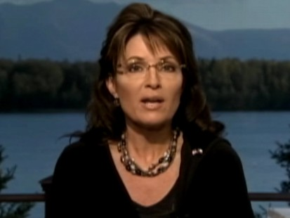 Video: Sarah Palin hints at Presidential bid.
