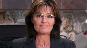 PHOTO Palin criticizes journalists and pundits in the wake of the Arizona shooting.