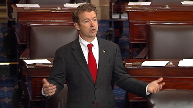 VIDEO: Rand Paul cites lethal drone strikes in his delay to nominate John Brennan as CIA director.