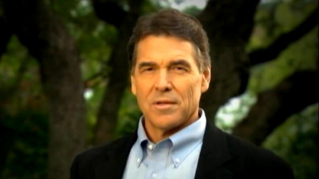 VIDEO: New campaign ad casts Perry as a