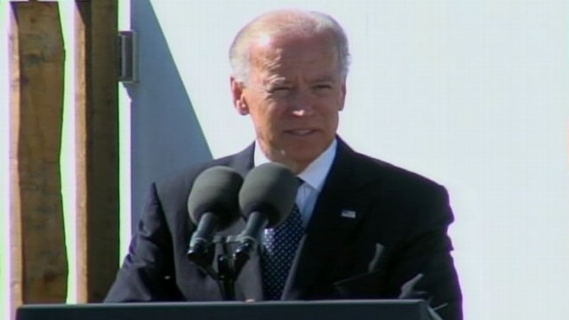 VIDEO: Vice President Biden Speaks in Shanksville on 9/11