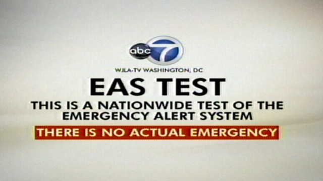 VIDEO: First National EAS Test Fails