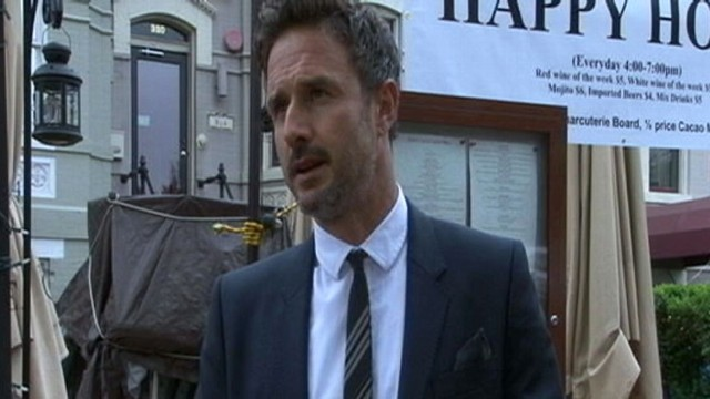 VIDEO: David Arquette, Stars, Advocate for the Arts