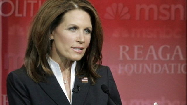 VIDEO: Minnesota congresswomen brings Tea Party sensibility to 2012 presidential race.