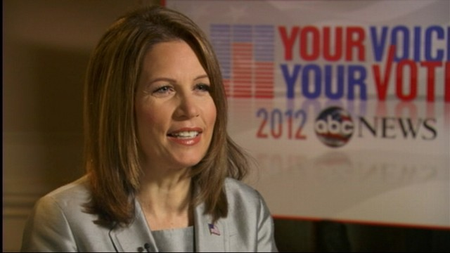 VIDEO: Bachmann?s Pick for Mount Rushmore: Why Garfield?