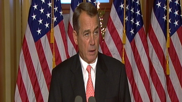VIDEO: Boehner: House Will Reject Senate Tax Cut Bill