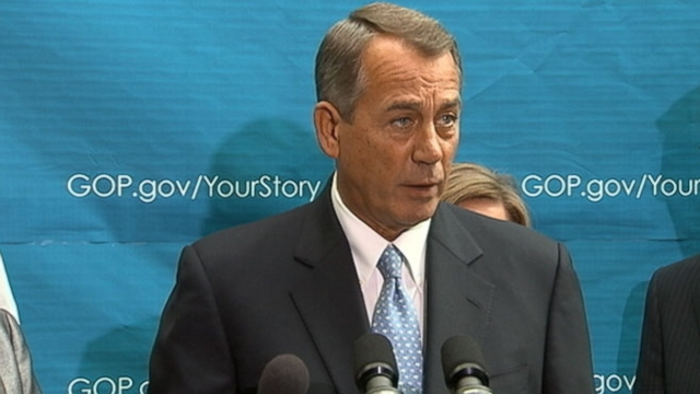 VIDEO: John Boehner: Obamacare Wreaks Havoc on American Families