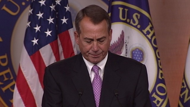 VIDEO: Speaker Boehner: Deal Reached on Payroll Tax Cuts