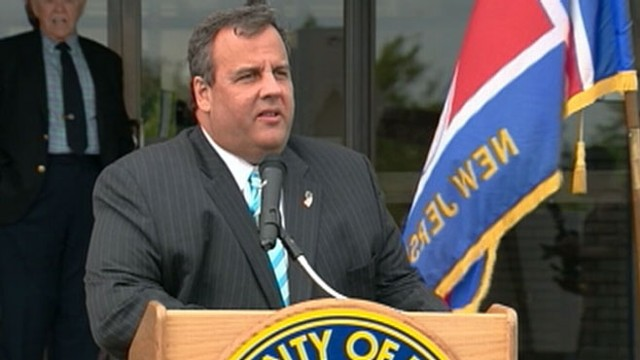 VIDEO: Chris Christie Addresses Weight Surgery At Newark Tech Announcement