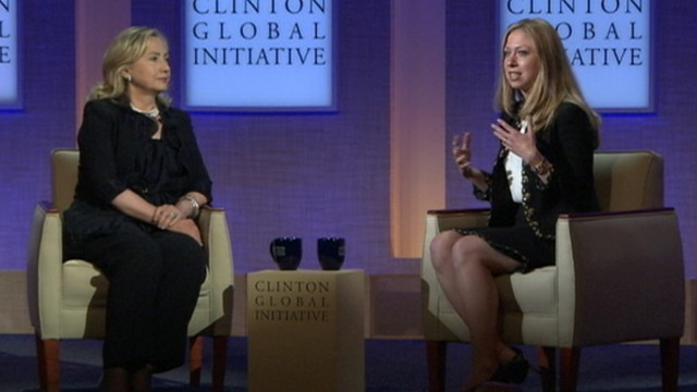 VIDEO:Chelsea Clinton Interviews Hillary