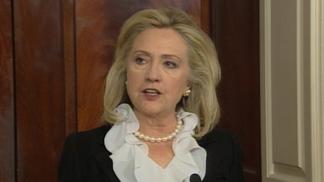 VIDEO: Sec. Clinton: Time for Assad to 'Get Out of the Way'