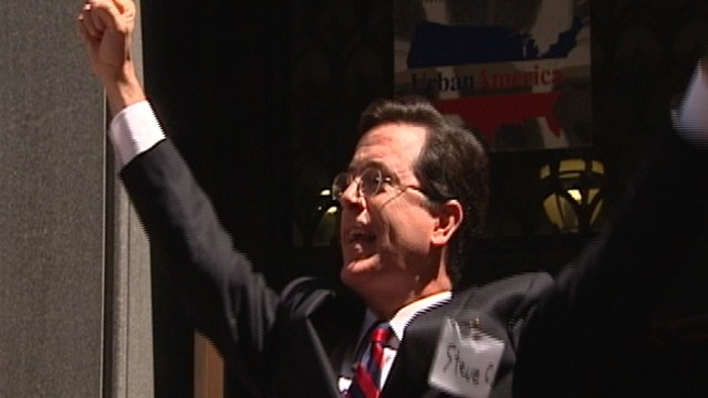 VIDEO: Stephen Colbert's Super PAC Approved
