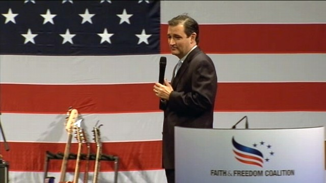 VIDEO: Ted Cruz: Thankful for Tropical Storm Isaac Keeping Biden Away