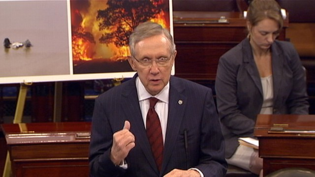 VIDEO:Sen. Reid Scolds Congress for Leaving Town